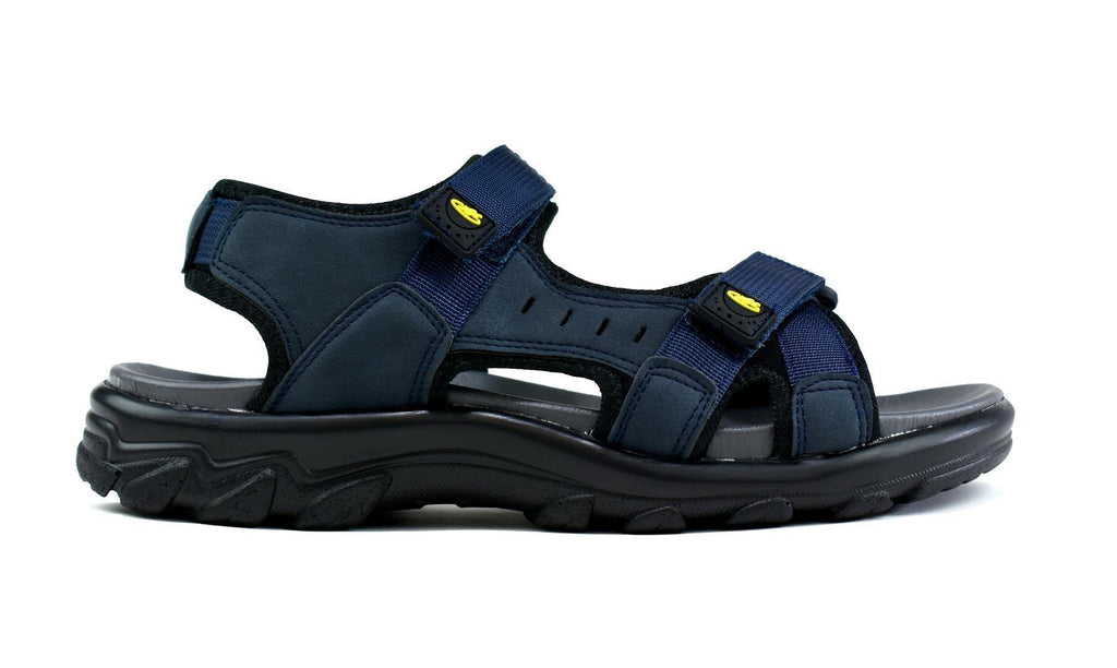 Men's Strappy Summer Sandals Navy - DadiTude