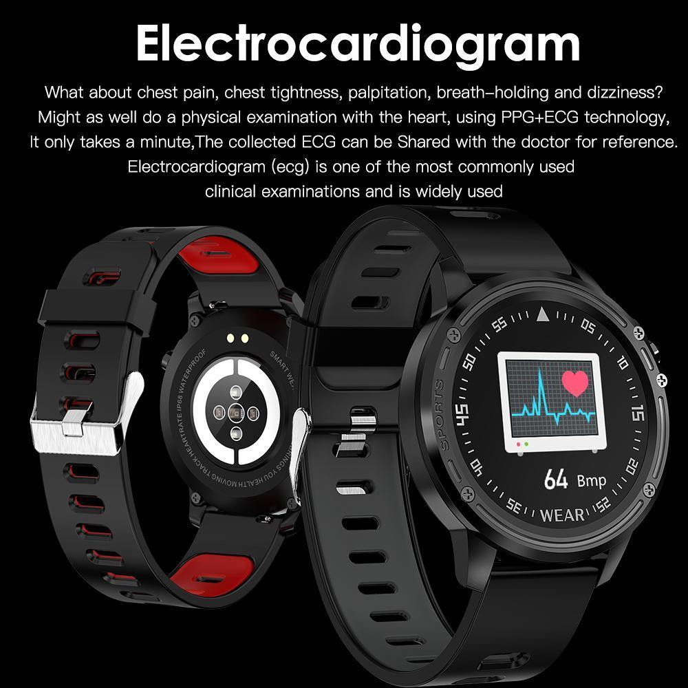 L8 smart bracelet heart rate ECG monitoring bracelet - DadiTude