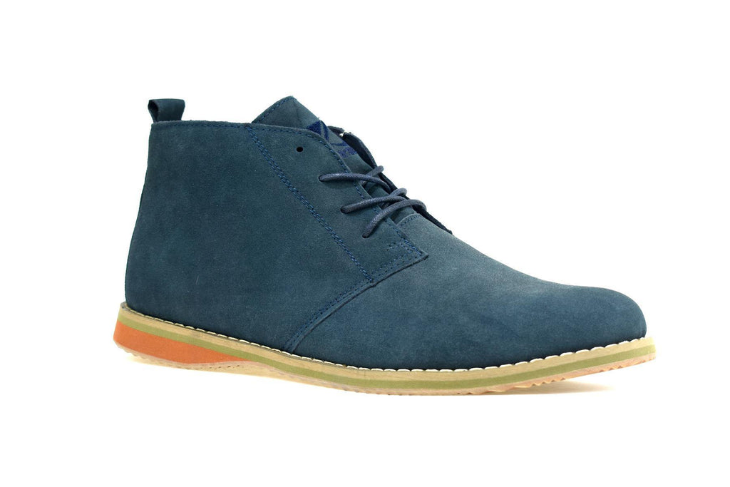 Men's Suede Desert Boot Navy - DadiTude