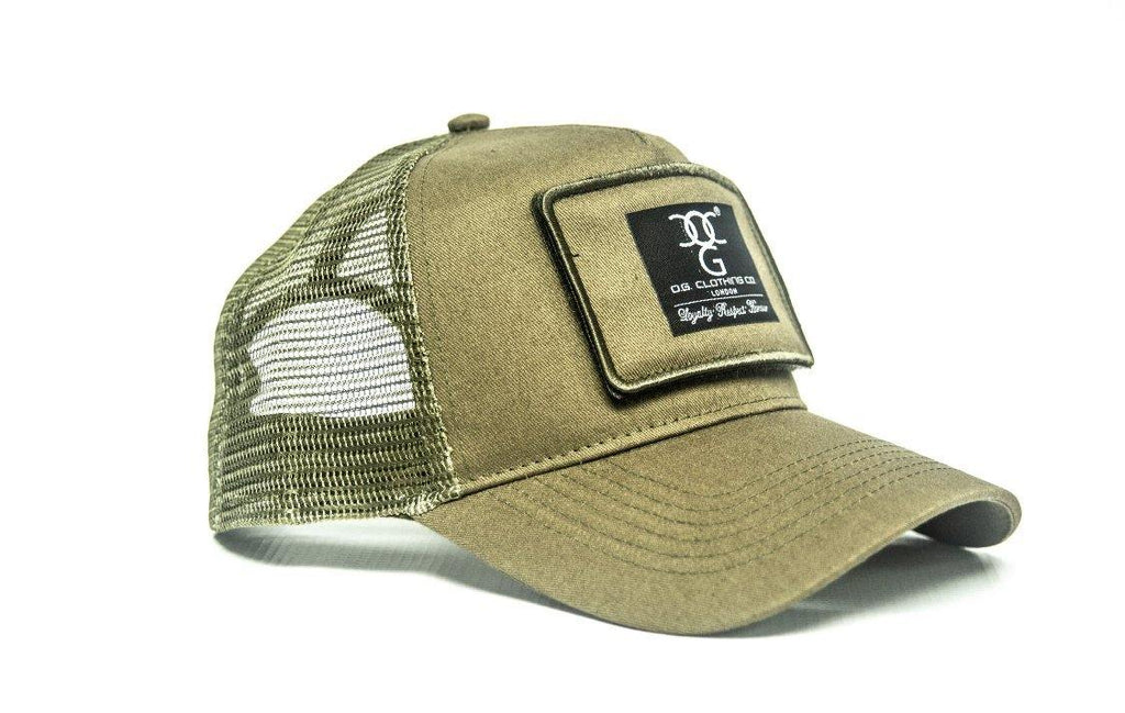OG Trucker Patch army green - DadiTude