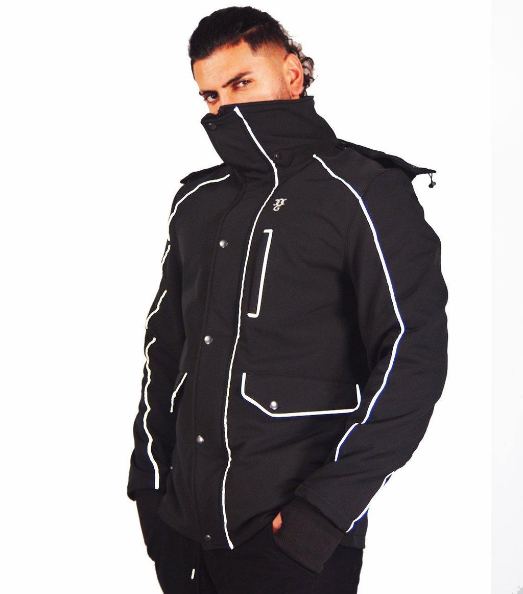 DEFENDER X  COMMUTER JACKET - BLACK - DadiTude