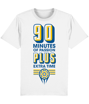 90 Minutes of Passion, Plus Extra Time T-Shirt - DadiTude
