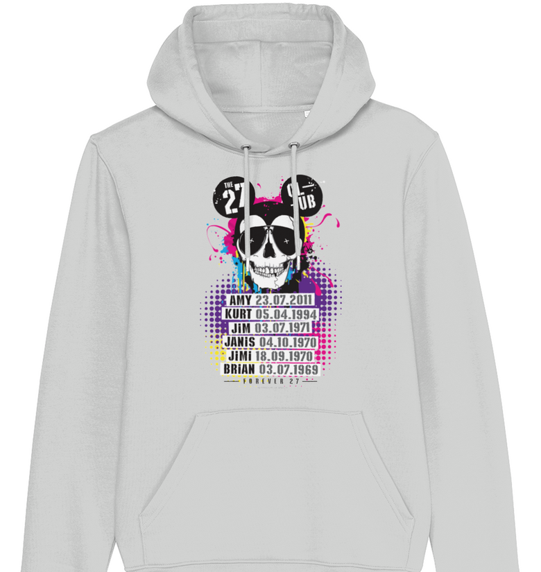 The 27 Club - Mouse Skull - Men's Hoodie - DadiTude