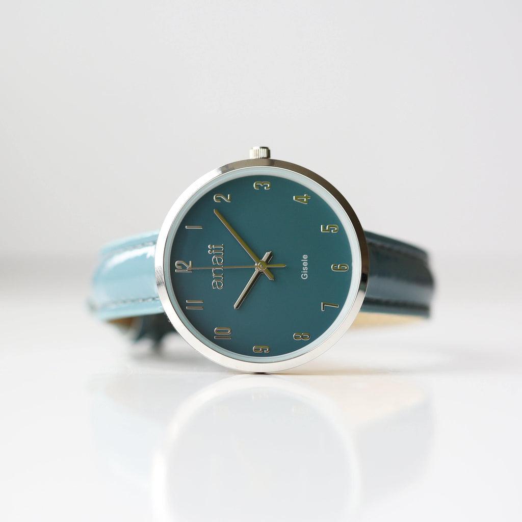 Personalised Anaii Watch In Jupiter Teal - DadiTude