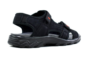 Men's Strappy Summer Sandals Black - DadiTude