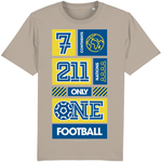 7 Continents, 211 Nations, only 1 Football T-Shirt - DadiTude