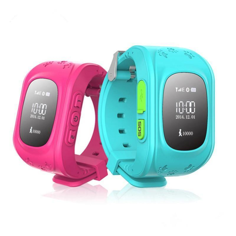 GPS Tracker Kids Smart Watch for Children Girls Boys Holiday Birthday - DadiTude