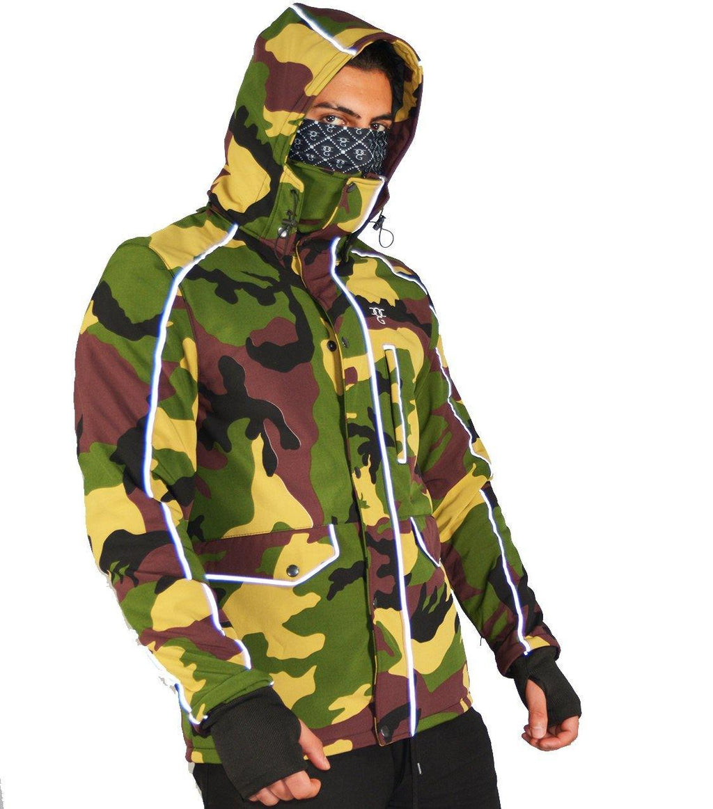 DEFENDER X  COMMUTER JACKET CAMO - DadiTude