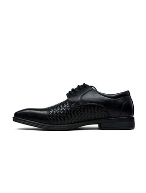 Woven Lace Oxfords Black - DadiTude
