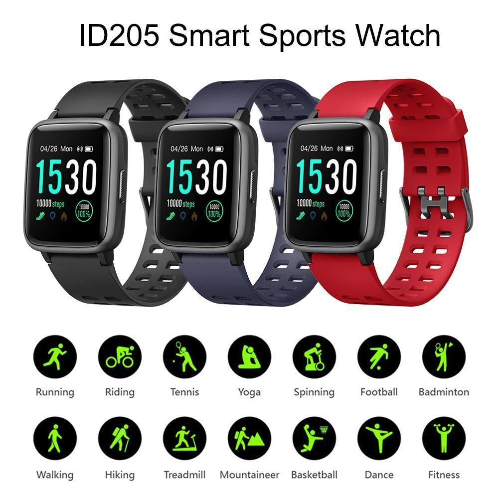 Heart rate sports bracelet smart watch pedometer - DadiTude