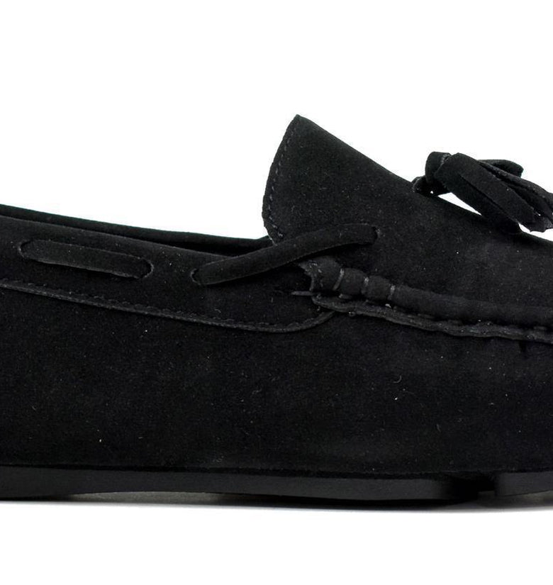 Tasselled Loafer Black - DadiTude
