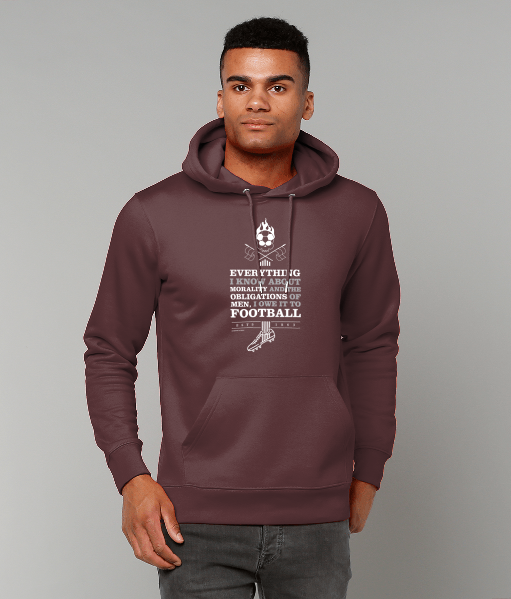 Everything I Know about Morality Men's Hoodie - DadiTude