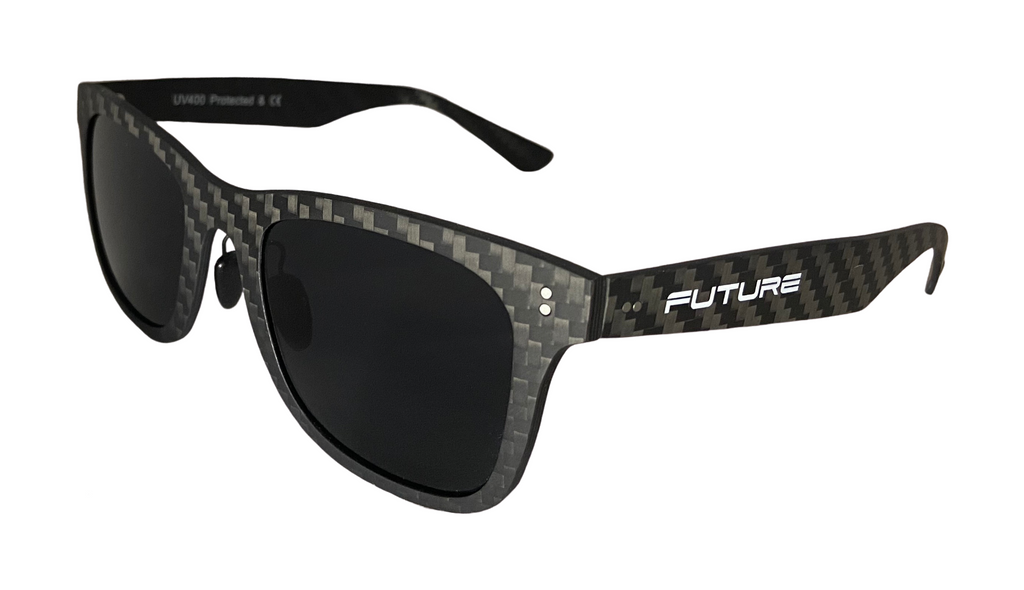 Full Carbon Fibre Sunglasses | Polarised Midnight Black - DadiTude