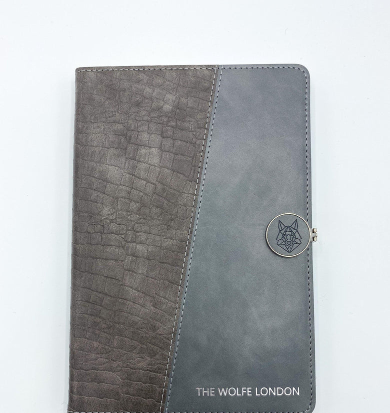 Crocodile Grey A5 Journal - DadiTude
