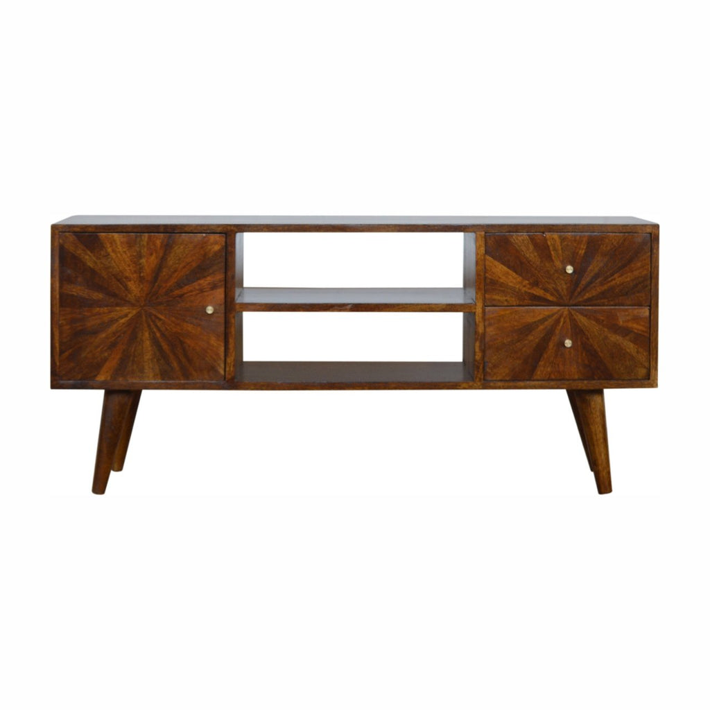 Chestnut Sunrise Console Table