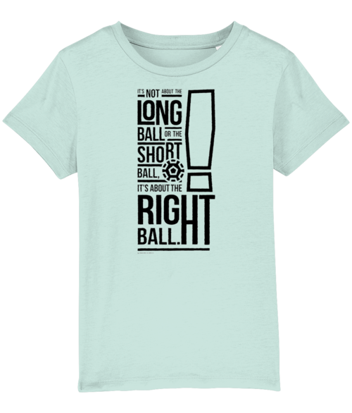 It's not about the Long Ball Kids T-Shirt - DadiTude