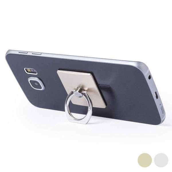 Adhesive Mobile Phone Holder with Double Function 145551 - DadiTude