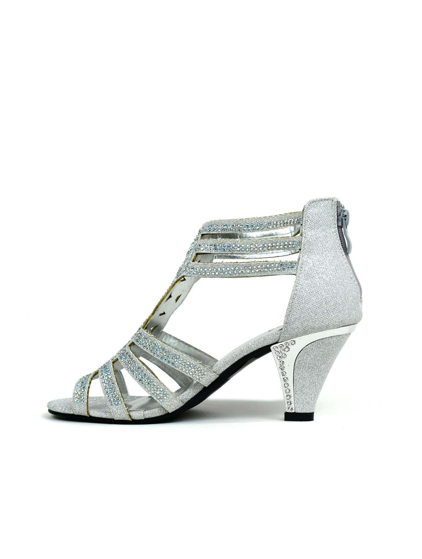 Up To My Ankles Sandal Silver - DadiTude