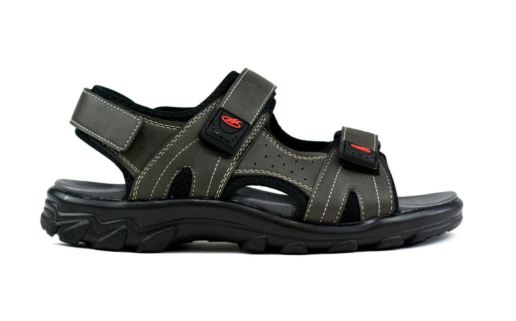 Men's Strappy Summer Sandals Grey - DadiTude