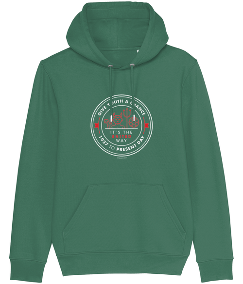 Give Youth a Chance - It's the United Way Men's Hoodie - DadiTude