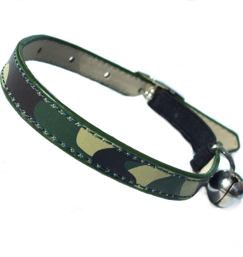 Army Camo Cat Collar - DadiTude