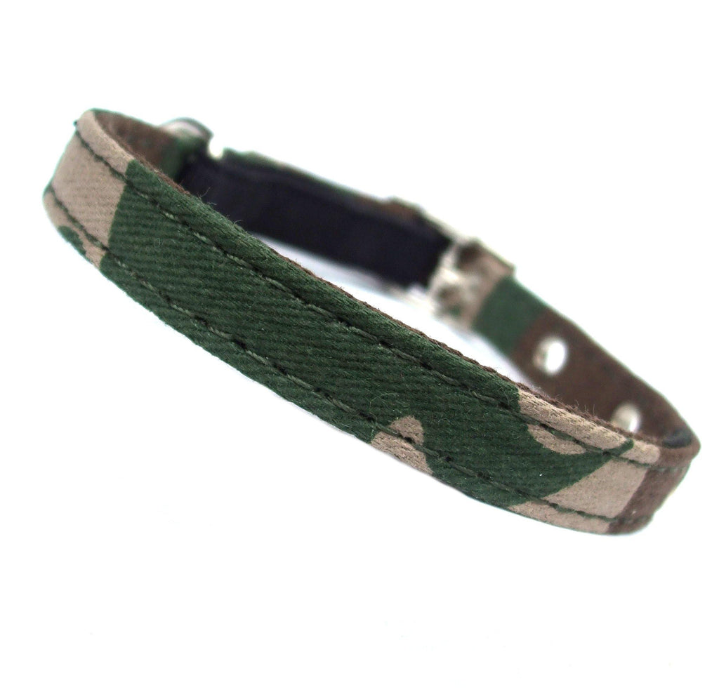 Army Canvas Cat Collar - DadiTude