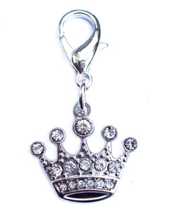 Crystal Crown Dog Cat Charm