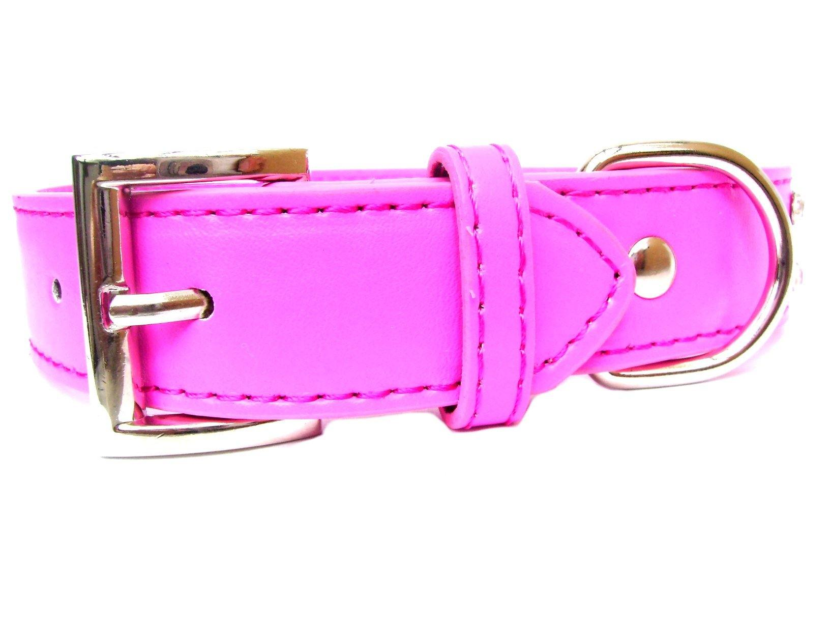 2-Row Dog Collars - Hot Pink - DadiTude