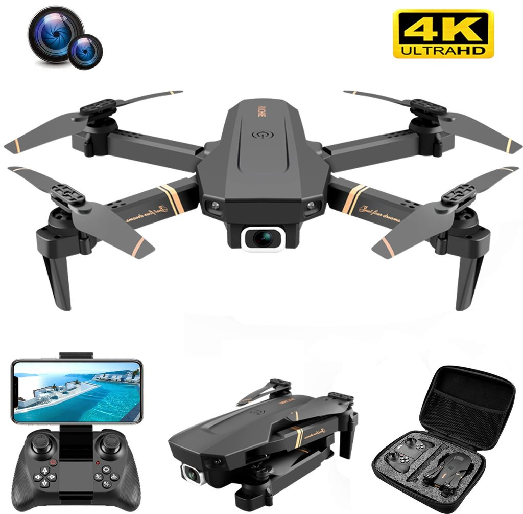 Ninja Dragon Alpha Z 4K HD WiFi FPV Dual Camera Quadcopter Drone