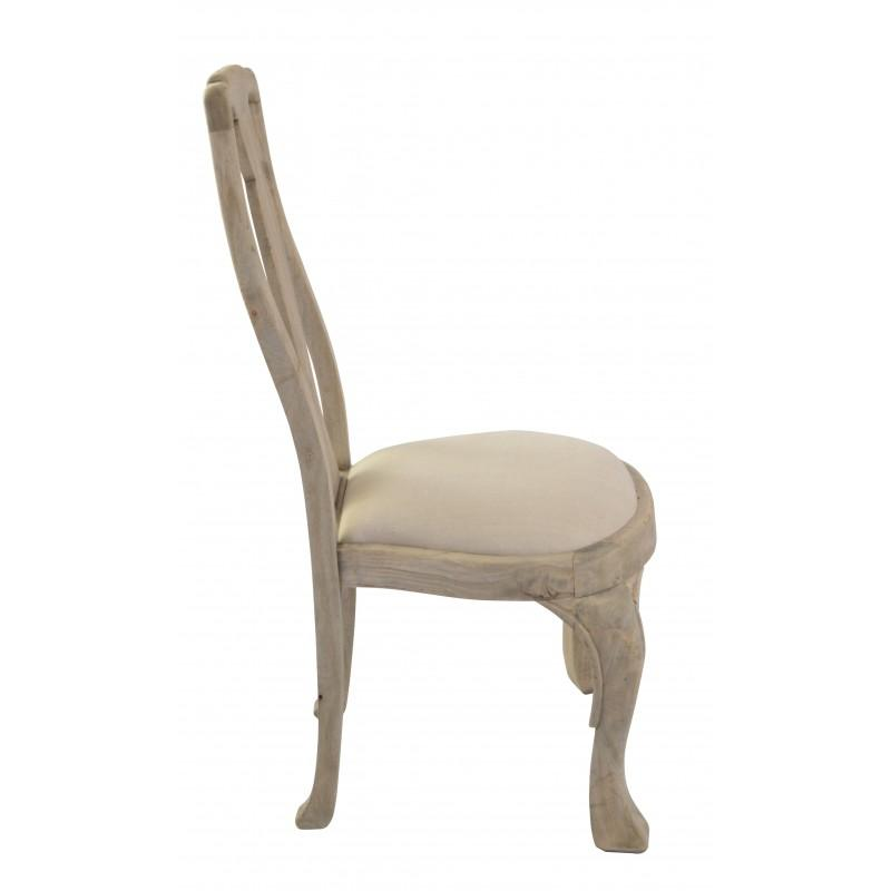 Deziiner Dining Chair Tall Back Upholstered Seat