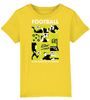 Football is the Ballet of the Masses Kids T-Shirt - DadiTude