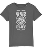 4-4-2 is the only way to Play Kids T-Shirt