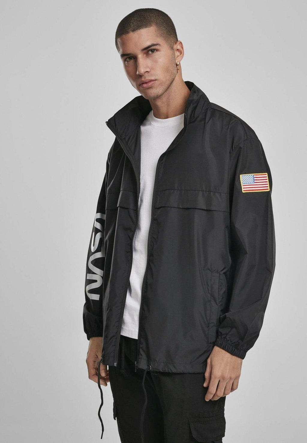 NASA Signature Nylon Windbreaker - DadiTude