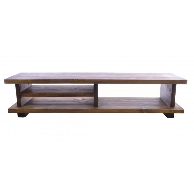 Oregon 140 TV Unit Wooden Leg