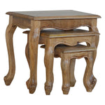 French Style Stool Set Of 3