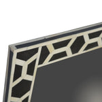 Bone Inlay Frame with Mirror