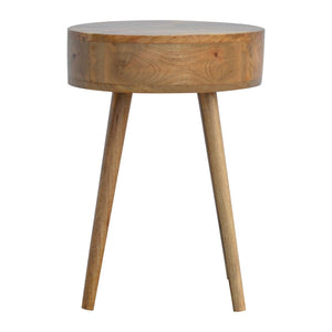 Nordic Circular Shaped Bedside