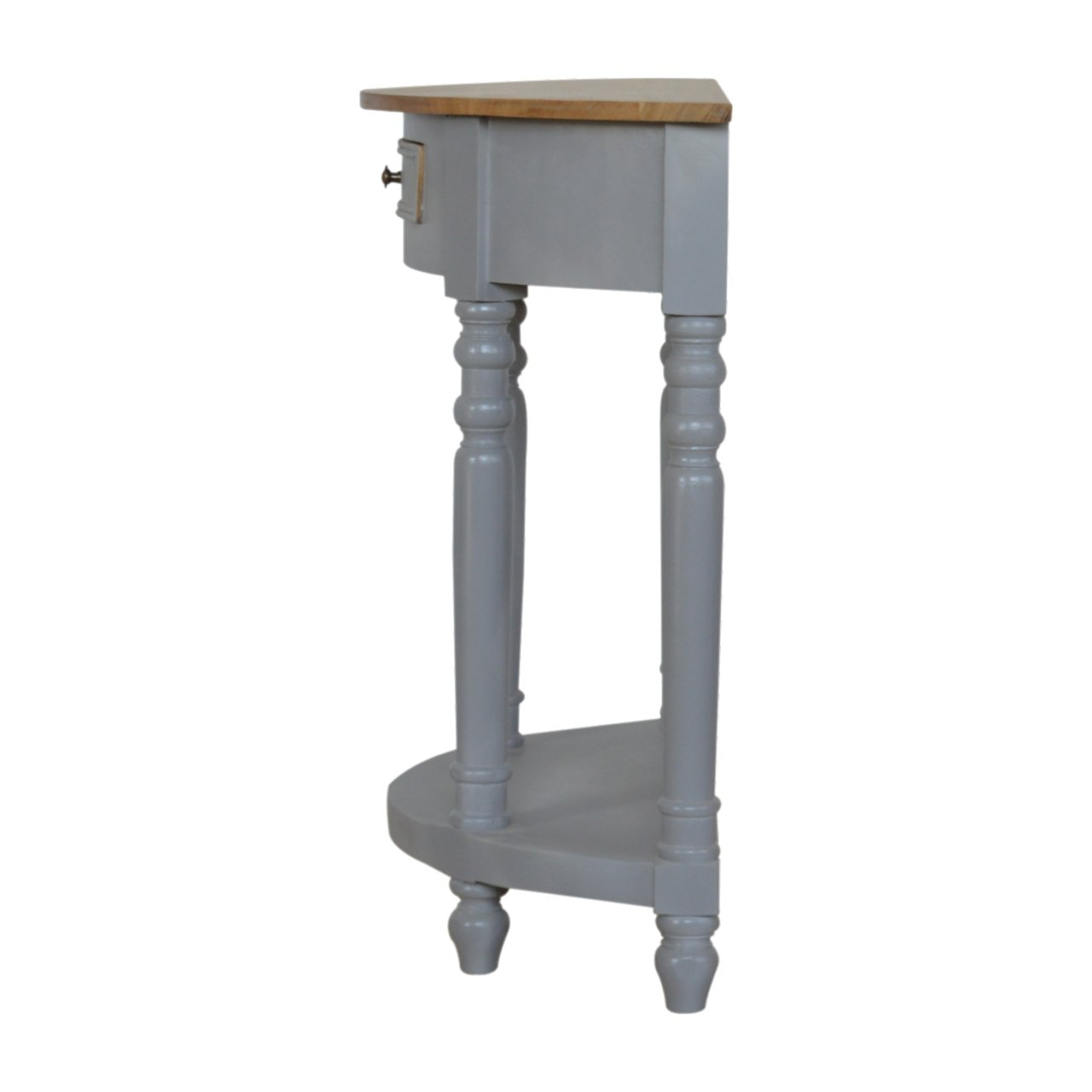 Grey Painted Serpentine Washstand