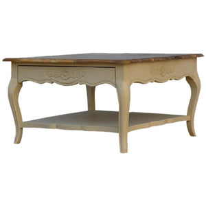 Amberly Carved Coffee Table - DadiTude