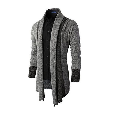 Urban Men Fashion Design Button-less Cardigan