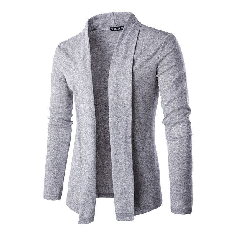 Button-less Open Design Knit Cardigan