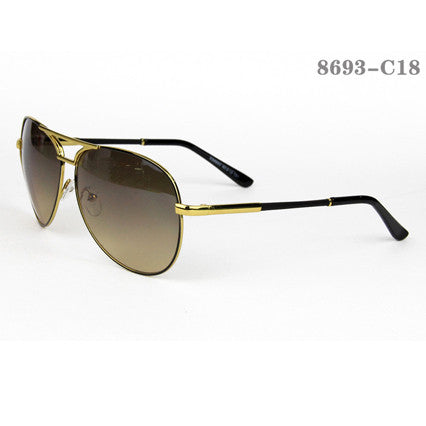 Aviator Style Men Sunglasses #QB-8627-C1