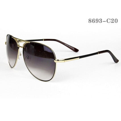 Aviator Style Men Sunglasses #QB-8680-C5