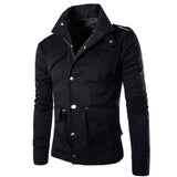 Military Men Slim Fit Jumper Jacket