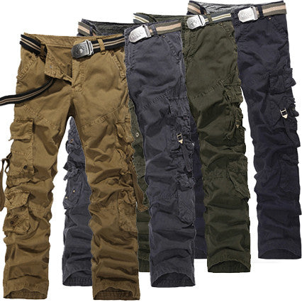 Multipocket Cargo Pants