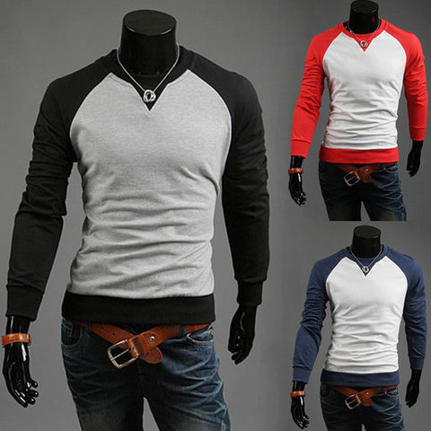Men's New Style Fashion Raglan Tee Shirt