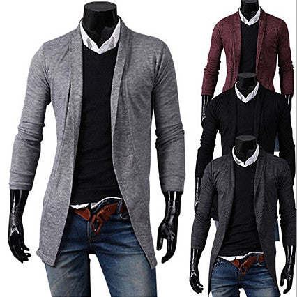 Stylish Men Fashion Open Cardigan