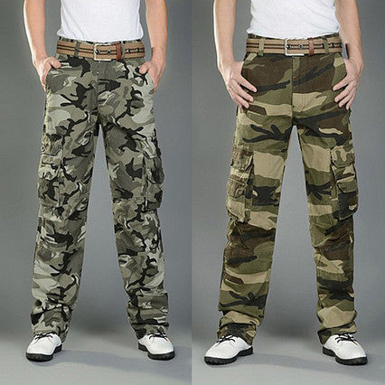 Military Camouflage Utility Pants