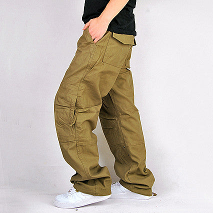 Relaxed Fit Multipocket Pants