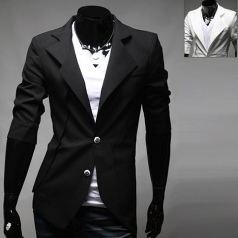 Latest Men's Trendy Fashion Slim Fit Half Sleeve Blazer